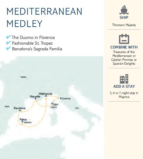 Mediterranean Medley Map